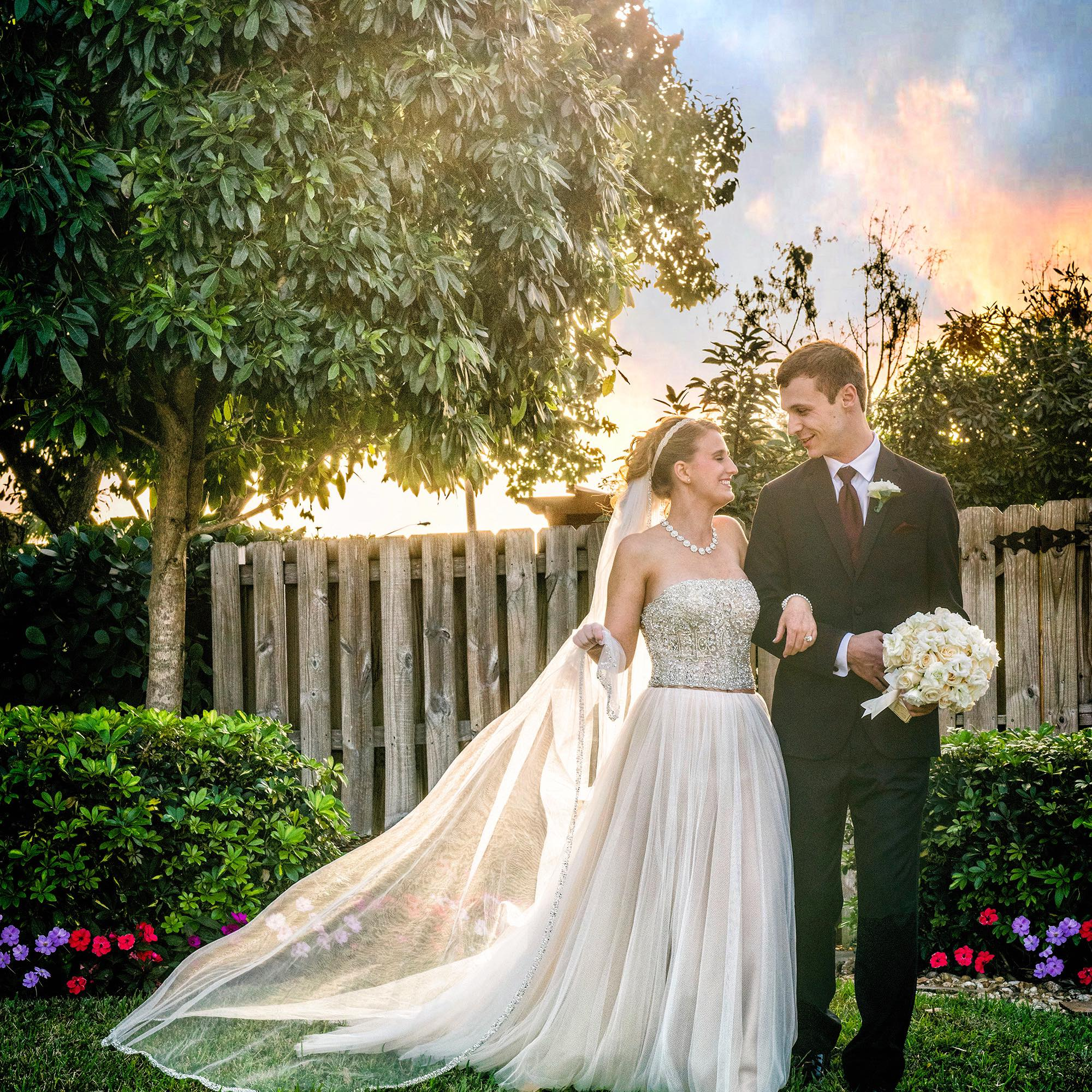 sarah & stuart – backyard vows